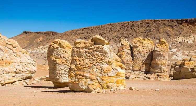 Formaciones rocosas del desierto