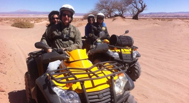 Aventura no deserto de Atacama