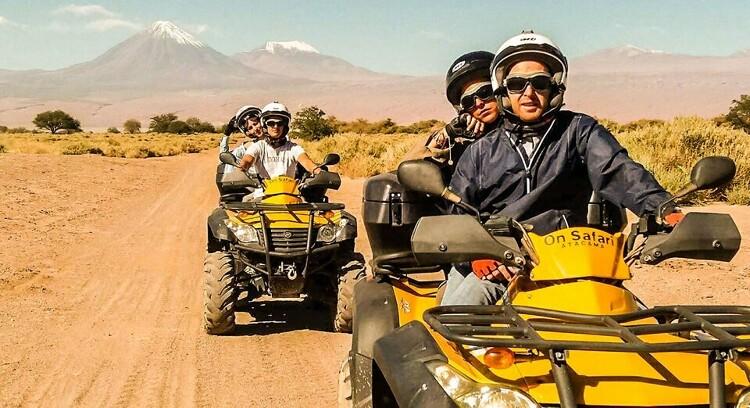 Tour de quads ATV Lagoa Cejar