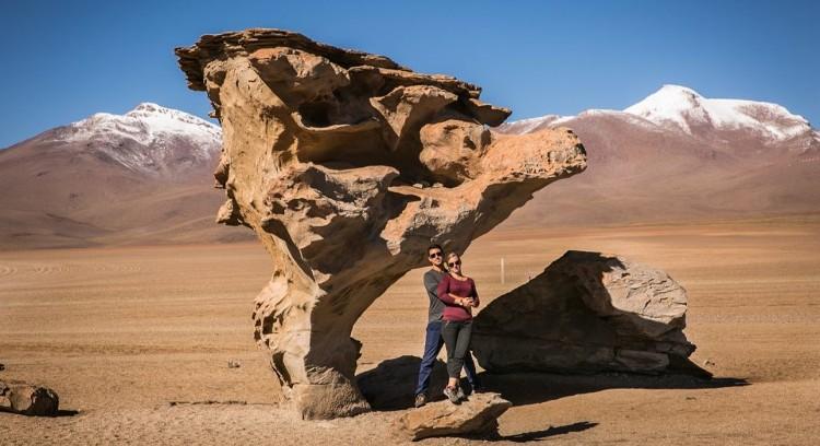 Arbol de Piedra tour Uyuni