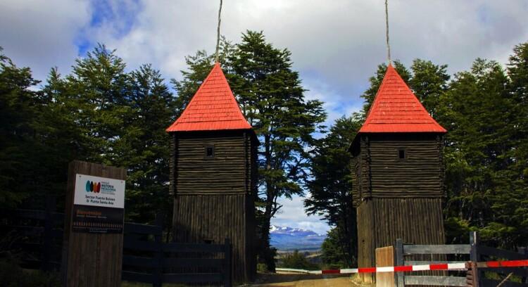 setor forte Bulnes e punta santa Ana