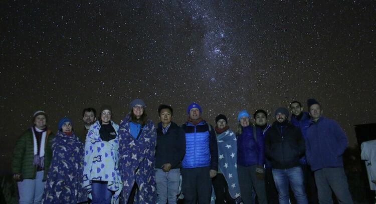 Observação astronômica em Atacama