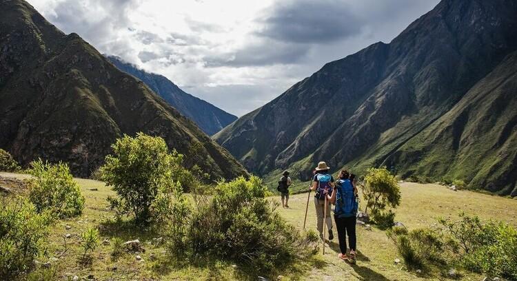 Pessoas Trilha Inca 2 dias