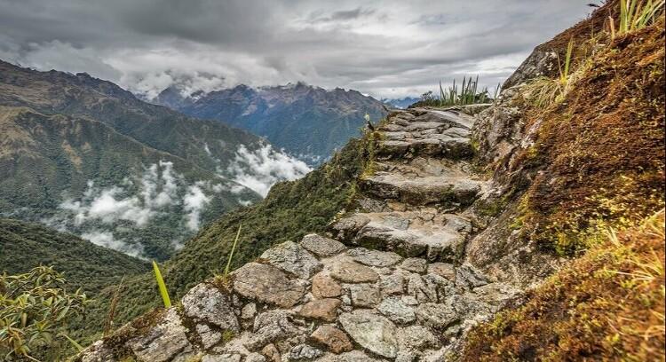 Escadas Trilha Inca 2 dias