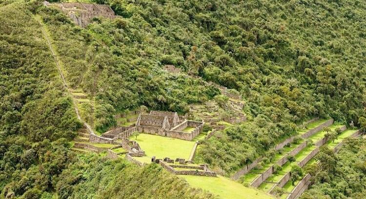Ruinas en Choquequirao