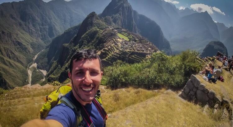 Homem Machu Picchu