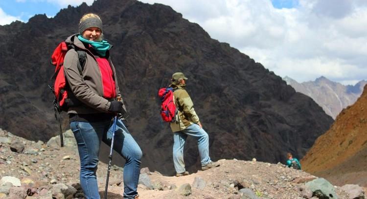 Trilha Cordilheira dos Andes