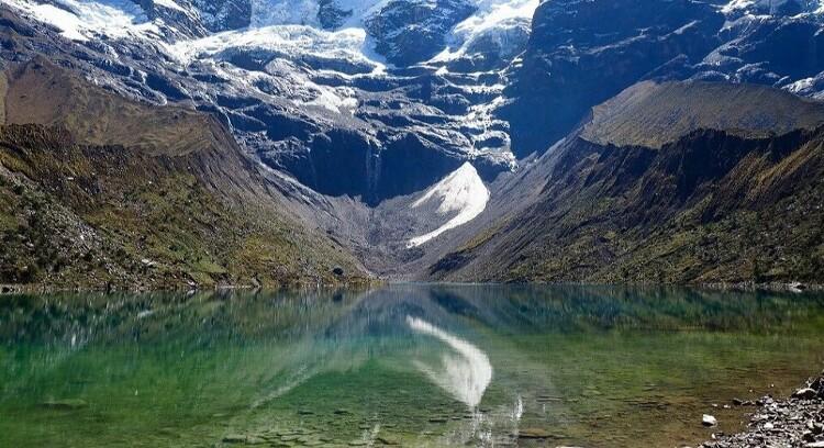 Espelho Lagoa Humantay