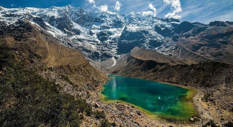 Panoramica Lagoa Humantay