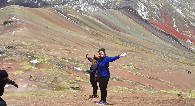 Montanha Arco-íris Palcoyo