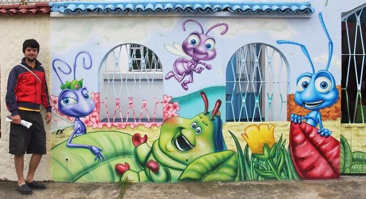 Arte nas Ruas de Bogotá
