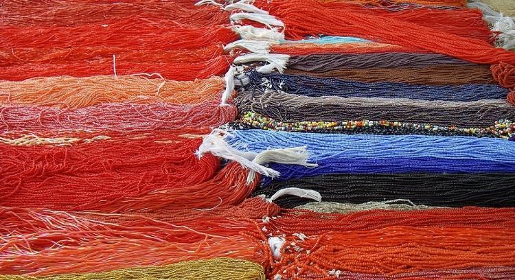 Craftwork in Otavalo