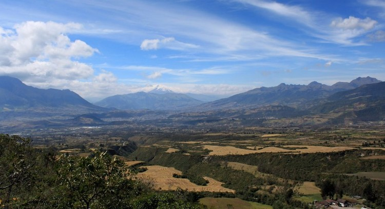 Andean Landscape in Otavalo