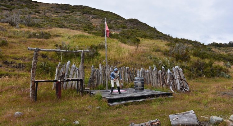 Parque com estátuas em tamanho real
