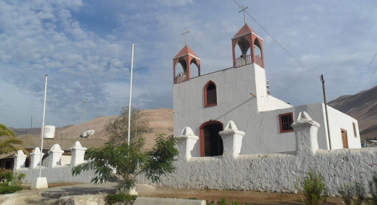Igreja San Jerónimo em Poconchile