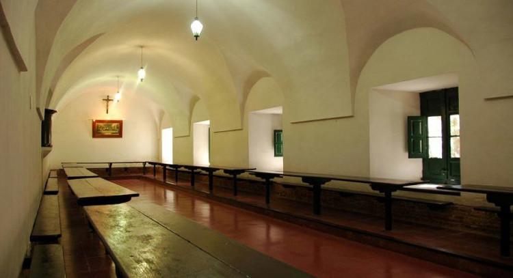 Refeitório do edifício histórico