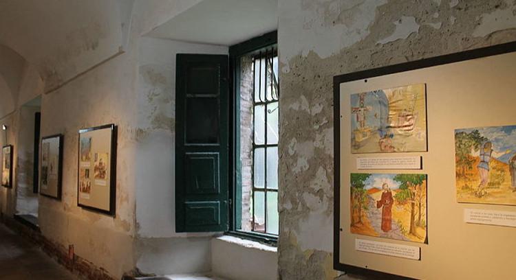 Interior do convento de San Lorenzo