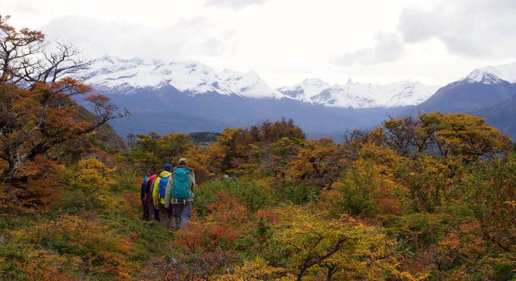 Trekking em estância patagônica