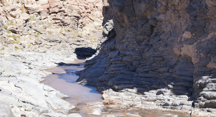 Quebrada río Vilama