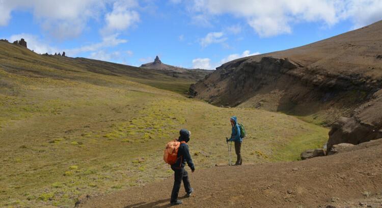 Trekking Sierra Baguales